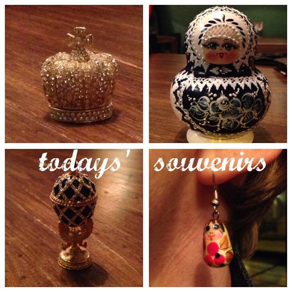 souvenirs St Petersburg