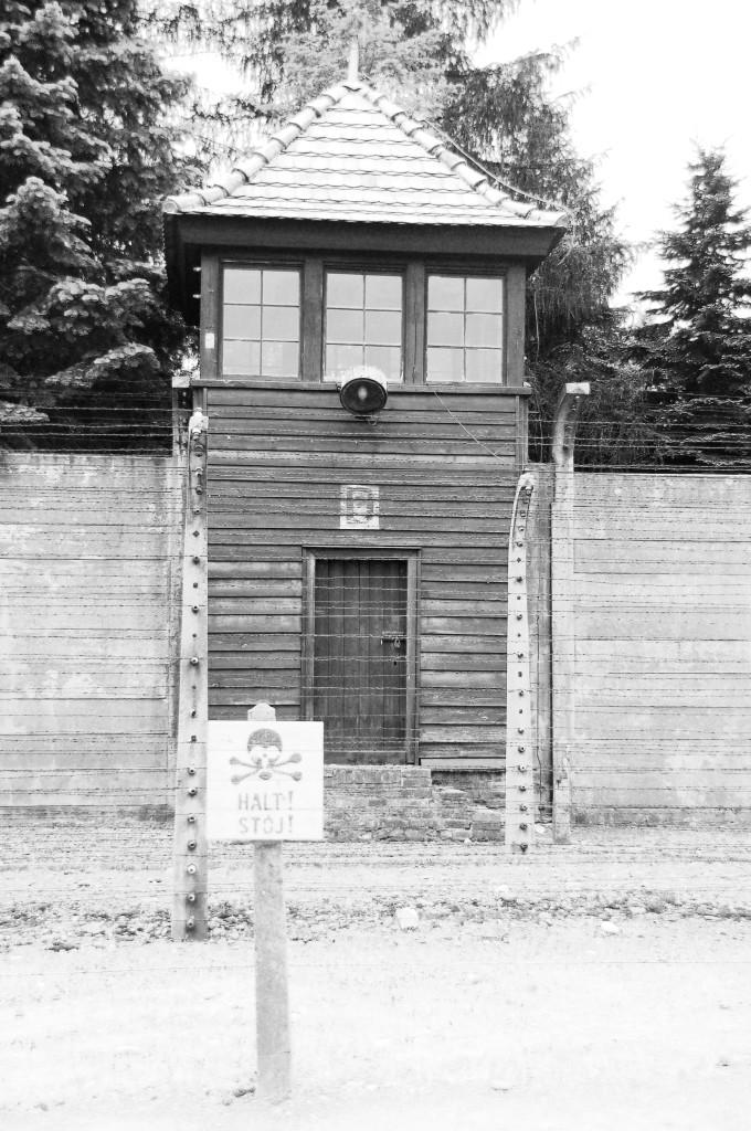 Auschwitz wachtpoort