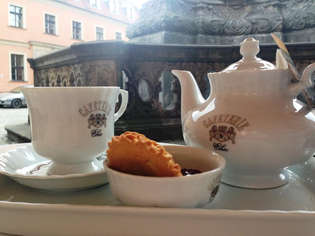 Kopje thee bij Cafetaria Chic