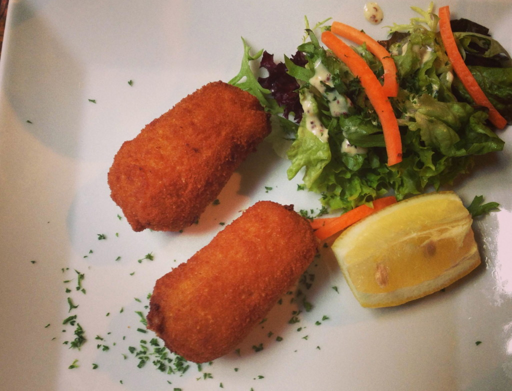 Shrimp croquettes speciality Ostend