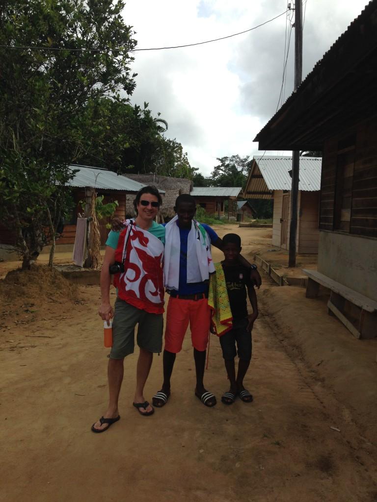 Dorpswandeling Kajana Suriname