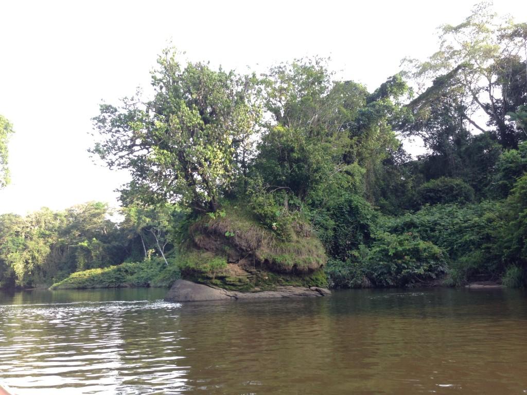 Awarradam eilandje Suriname