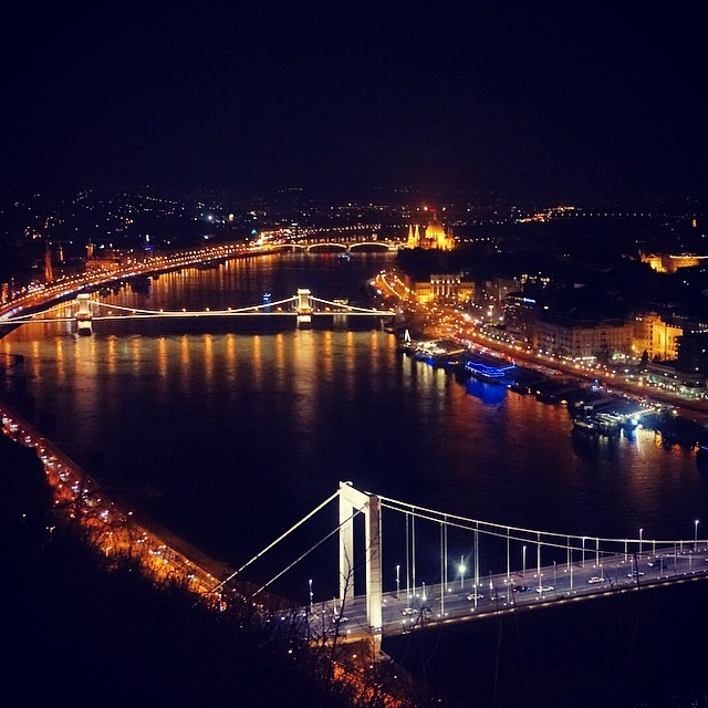 uitzicht citadel, Boedapest