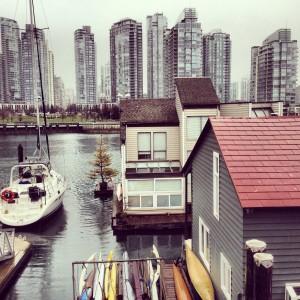 Woonboten in Vancouver