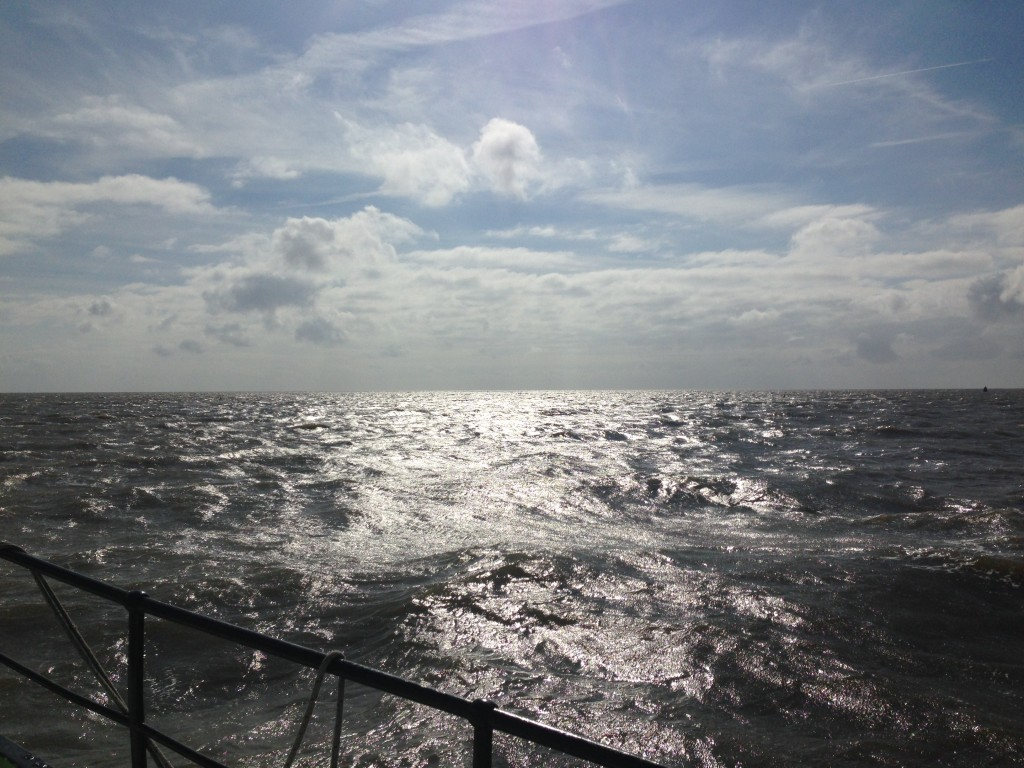 horizon vanaf de boot