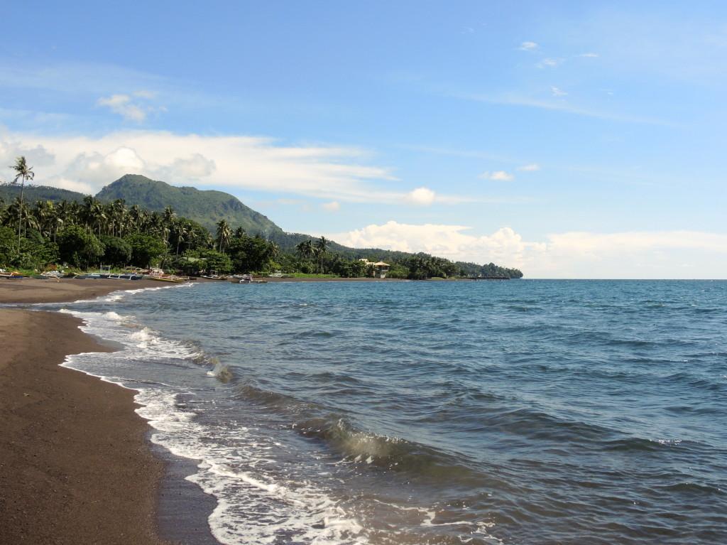 Camiguin volcanic beach