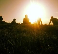 zonsondergang kalemegdan park belgrado