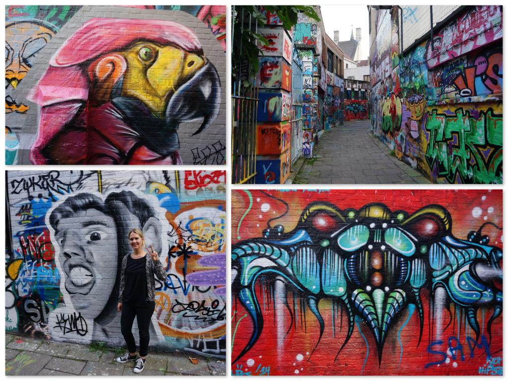 Grafitti in Gent