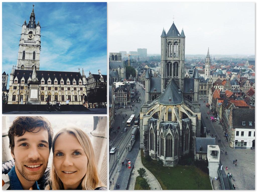 Torens in Gent