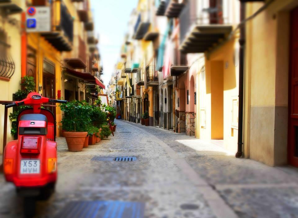 De straatjes van Cefalu