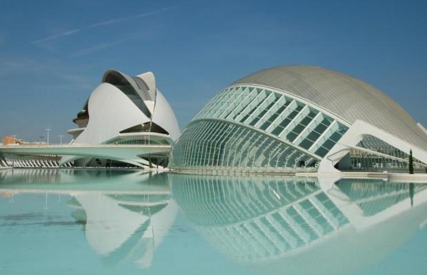 Ciudad de las Artes in Valencia