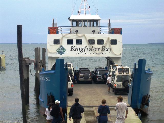 Ferry naar Fraser Island