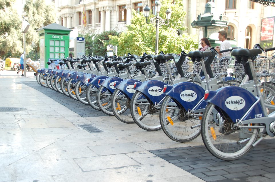 Pak de fiets naar Ciudad des les Artes