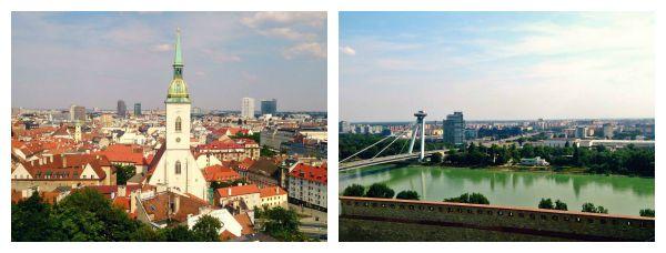Uitzicht Bratislava