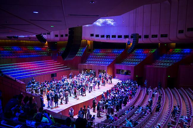 Sydney Opera House Open Day on October 18, 2015. Photo by Anna Kucera