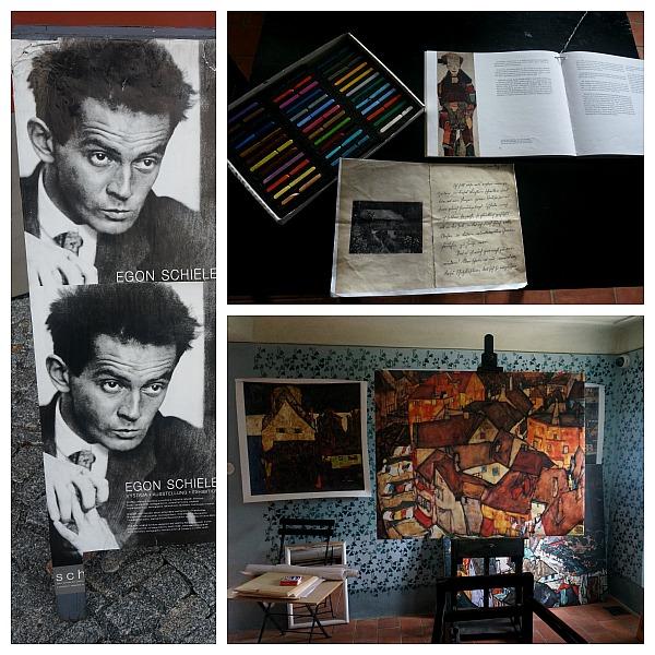 Egon Schiele garden atelier