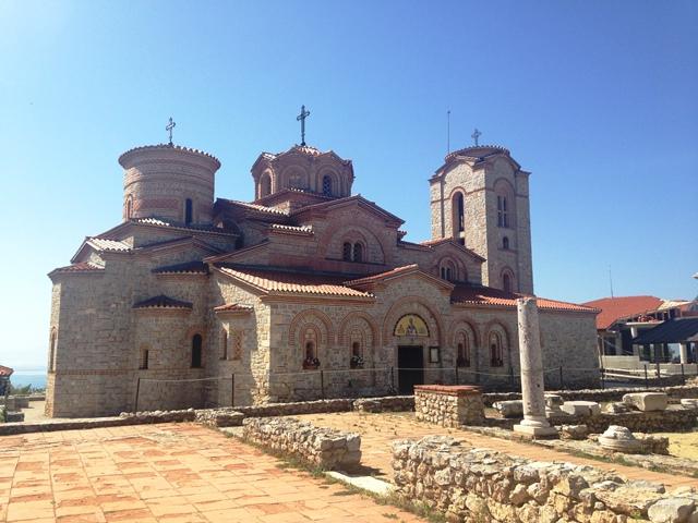 Klooster van St. Clement in Ohrid, Macedonië