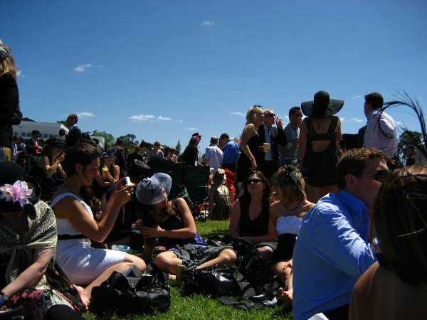 Picknicken op de Melbourne Cup