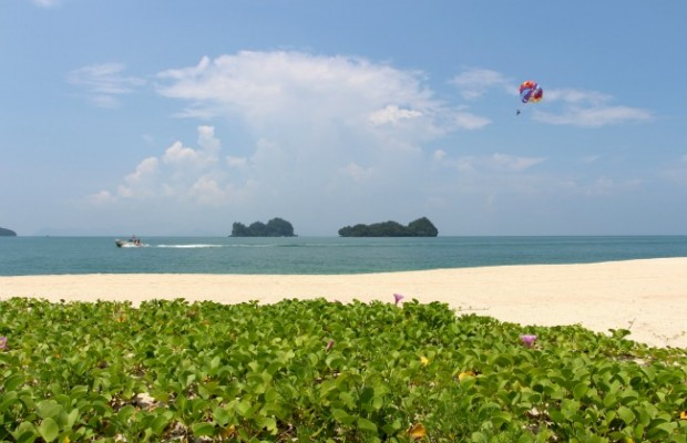 mooi uitzicht zee thailand