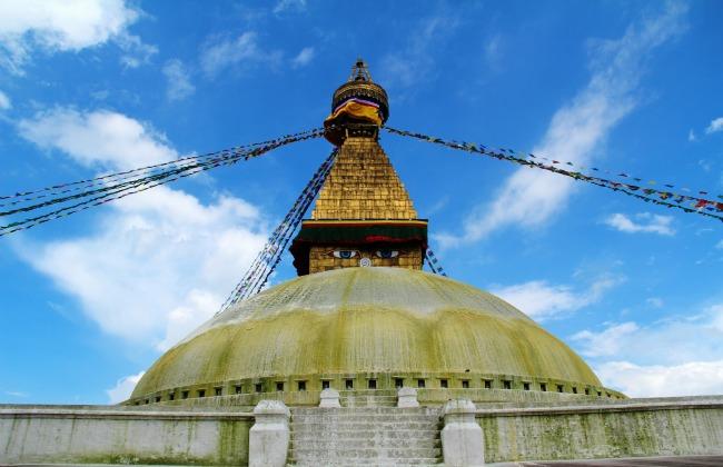 03 Nepal - Kathmandu Stupa