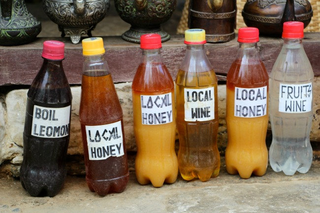 05 Nepal - Lokale drankjes