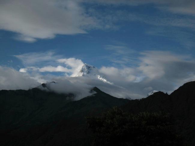 07 Nepal - Hoge bergpiek