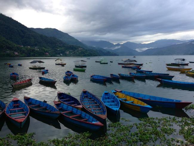 08 Nepal - Pokara meer