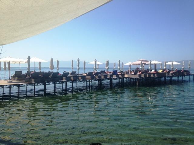 Cuba Libre aan het meer van Ohrid