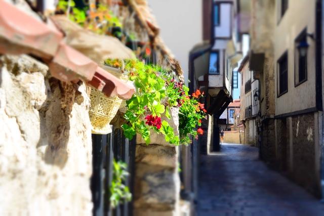 De straten van Ohrid