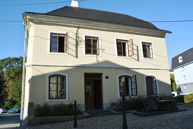 Het geboortehuis van Siegmund Freud