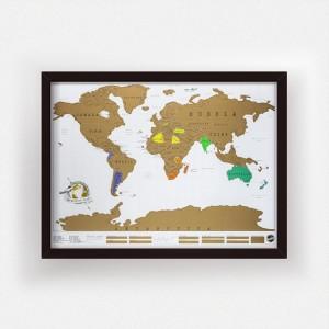kraskaart wereld