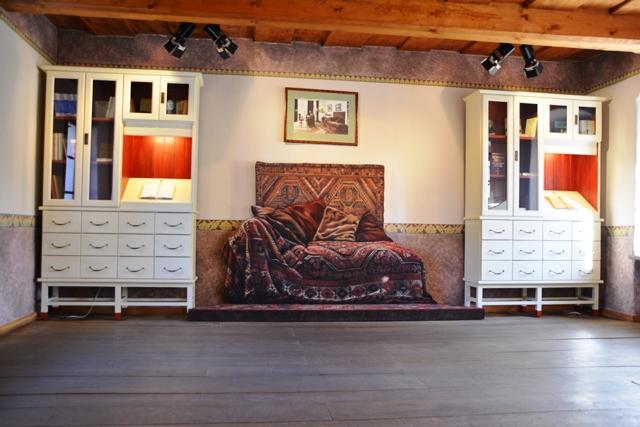 De sofa van Sigmund Freud