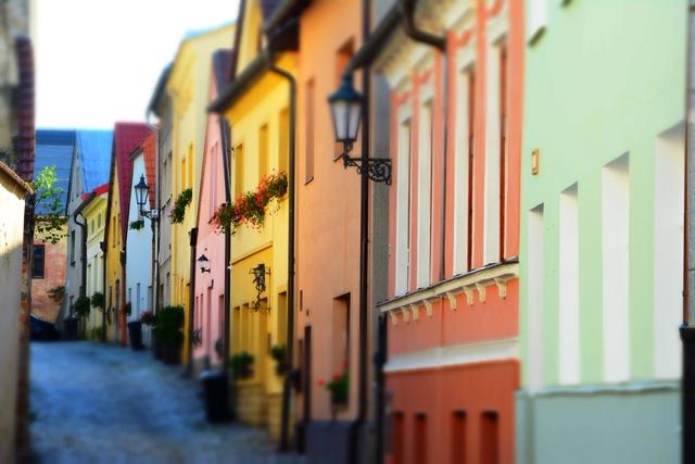 De straten van Pribor