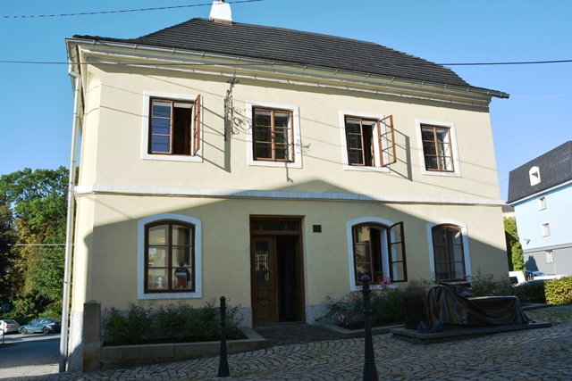 Het geboortehuis van Sigmund Freud in Pribor