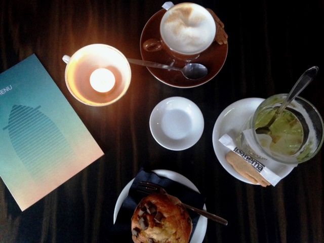 Koffie drinken in bij Ipanema