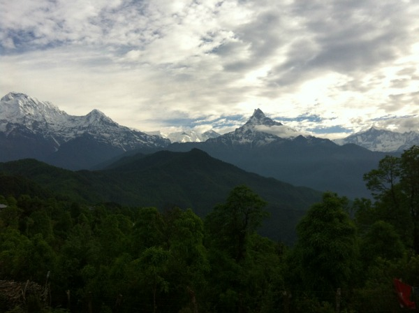 Nepal bergen