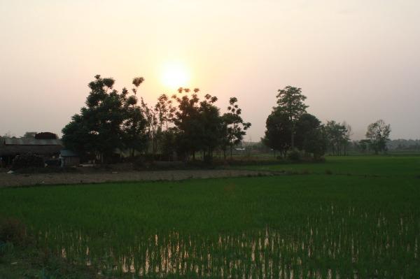 Nepal landschap