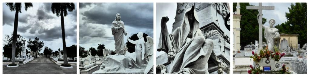 collage begraafplaats cuba