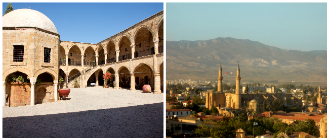 Buyuk han & Selimiye Moskee