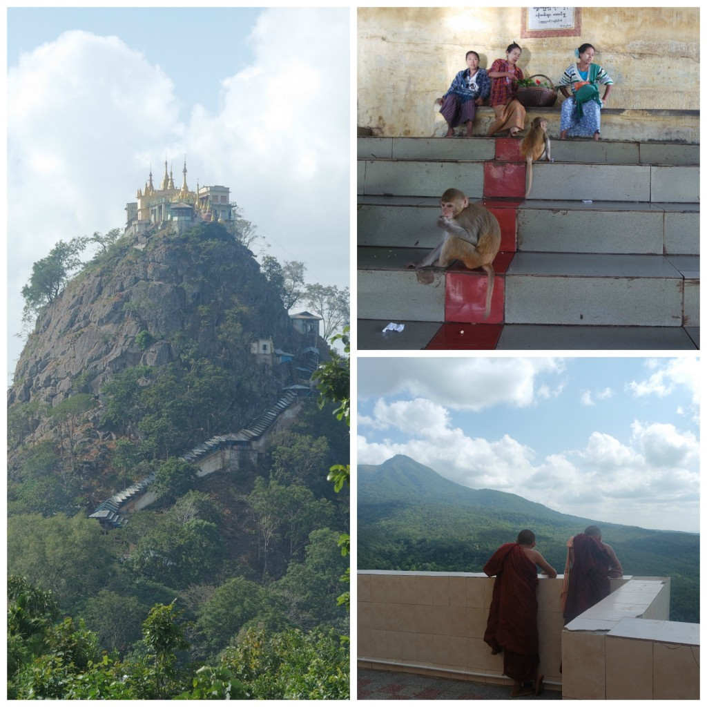 Mount popa Bagan