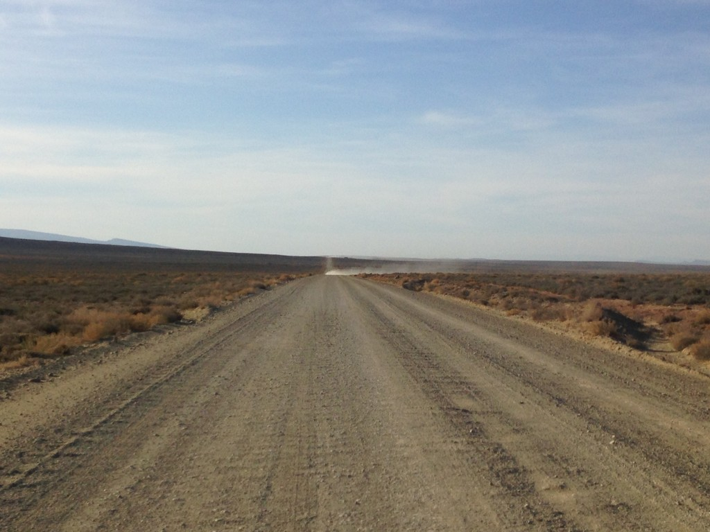 The road to Tankwa Town, AfrikaBurn