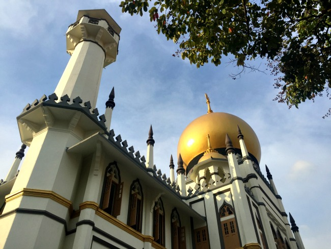 Majid Sultan Mosk near Haji Lane