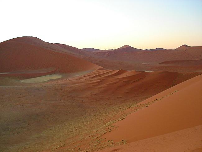 Rode zandduinen