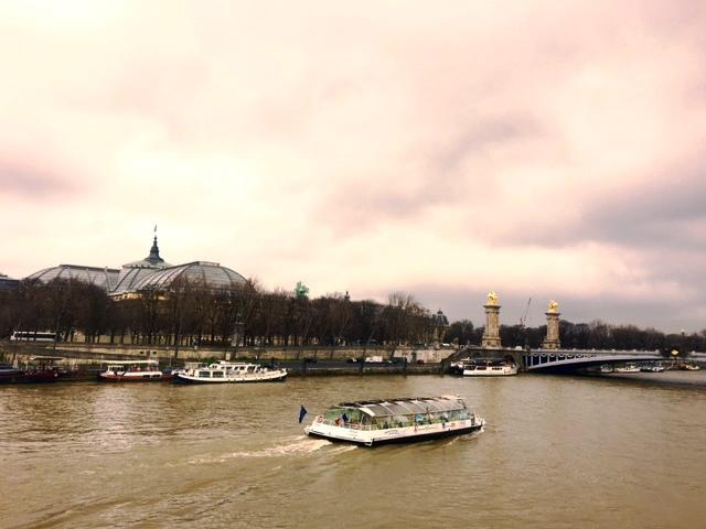 Slenteren langs de Seine