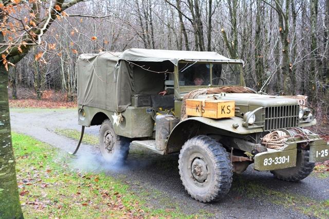Met de jeep uit 1944 gaan we terug in de tijd