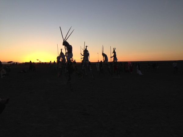 the blue moon collective at sundown
