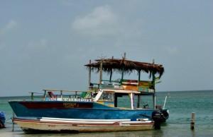 Caye Caulker Bob Marley eiland van Belize