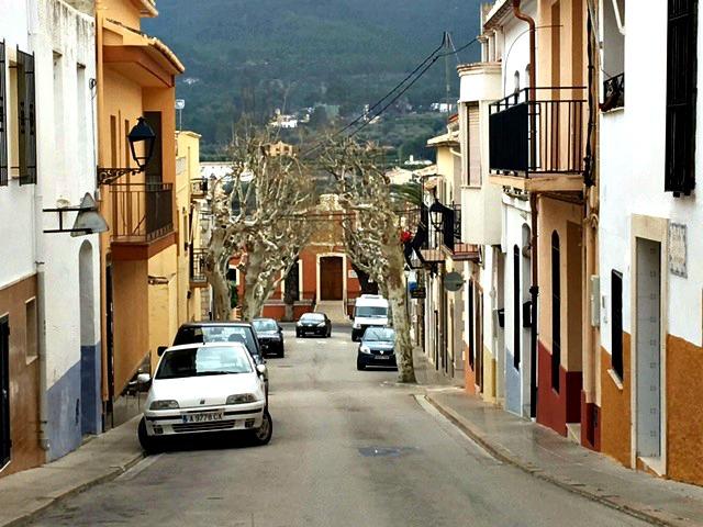 De straten van Alcalali