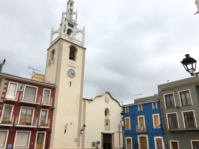 Kerktoren in Parcent