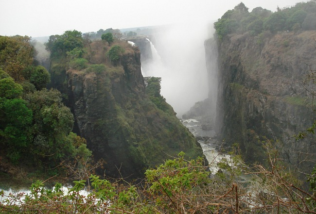 Wandeling Vic Falls